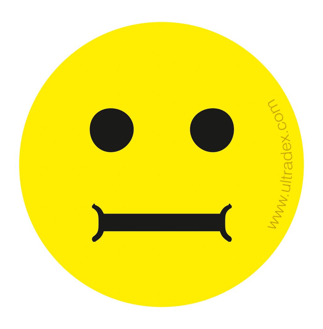 Smiley-Magnete (gelb)