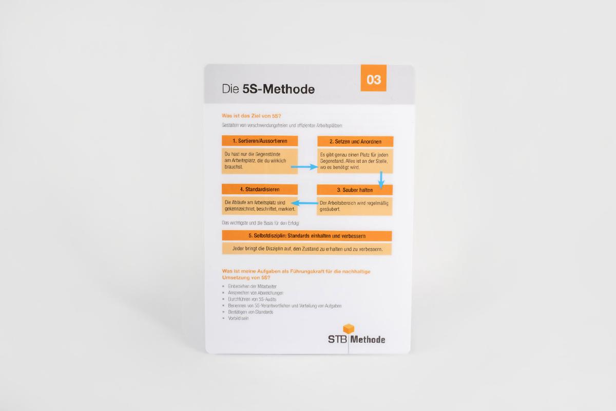 Pocket Guide: 03 - Die 5S Methode